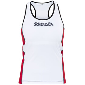 Profile Design ID Tri Top Women red/white